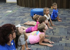 Library Olympics (Caroline County Public Library MD) Tags: olympics nurseryrhymes mothergoose