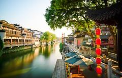 FuZiMiao, Nanjing (Lengs83) Tags: longexposure sunset beautiful river timelapse tea lanterns nanjing teahouse fuzimiao