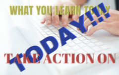 What You Learn Today, Take Action On Today! (lieforly14319) Tags: blogger aruna kumar
