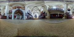 Biserica Mnstirii Dominicane (jamescastle) Tags: panorama church architecture gothic 360 unesco romania vr easterneurope sighioara equirectangular
