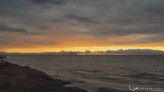 2016 - Landscape - Sunset - Largs - 02_24_01.jpg (stevenlazar) Tags: ocean sunset beach clouds waves jetty australia adelaide southaustralia largs 2016