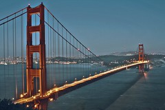 Golden Gate (gregnutterocc) Tags: goldengatebridge sanfrancisco dusk bridge