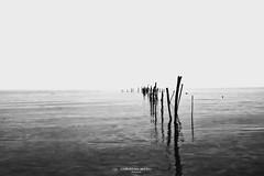 Gates of heaven (Christian Miceli Photography) Tags: sea bw white black landscape nikon minimal
