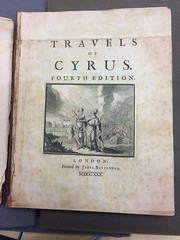 445507_TravelsOfCyrus_TitlePage (earlynovelsdatabase) Tags: 1730 ramsay titlepage 1730s 445507