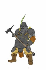 Heavy Foot Soldier (nathannethis) Tags: art hammer infantry wow design sketch artwork drawing fat large worldofwarcraft warcraft doodle knights armor weapon fatty warhammer knight warrior concept finalfantasy heavy gw guildwars league morrowind oblivion mmorpg porkins conceptart tacticsogre characterdesign soulcaliber witcher frontlines bigknight characterconcept swordart fantasyrpg jrpg darksouls heavyarmor battlehammer fantasydrawing skyrim leagueoflegends fatknight heavyclass smough swordartonline nathantyner tankclass nethis4492 darksouls4 nathantynerart