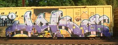 Joke (MC. Squared) Tags: train graffiti joke freight tio wholecar railbox