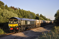 66779 6D22 Monk Bretton to Doncaster Roberts Road at Carlton 05-07-2016 hires-11 (ross 47222) Tags: star evening sand gm carlton monk bretton royston gbrf 6d22 66779