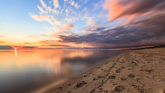 Long Island Sunset (Thunder1203) Tags: bayside beach canon foreshore frankston longexposure longisland morningtonpeninsula portphillipbay sea sigma1020 sunset coastline victoria australia au