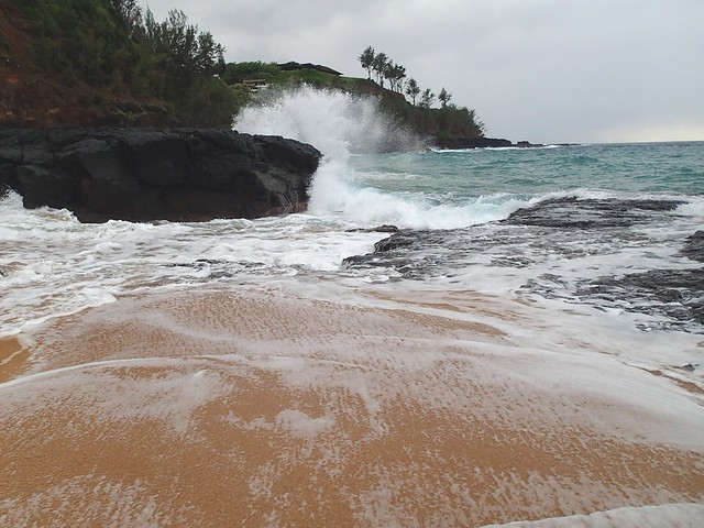 The Big Splash on Secret Beach