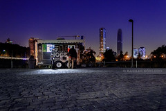 Hot Dogs (Basilio Robledo) Tags: chile longexposure santiago light night canon landscape photography eos photo foto lightroom fotografa largaexposicin efs1855mmf3556is parquebicentenariovitacura basiliorobledo canon550d canont2i canoneosrebelt2i canoneost2i