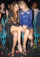 Selena Gomez and Taylor Swift (Svetlana0909) Tags: sexy shiny highheels legs gorgeous heels sexylegs crossedlegs gorgeouslegs shinylegs taylorswift selenagomez
