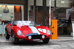 Ferari 500 Mondial Spider (Raphal Belly) Tags: red paris car de french rouge photography eos hotel spider riviera photographie 7 ferrari casino montecarlo monaco mc belly exotic 7d passion 500 raphael rosso rb supercar spotting supercars mondial raphal rossa principality competizione