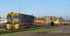 work trains (sth475) Tags: railroad autumn yard train work clyde diesel sydney railway sunny loco nsw locomotive freight jumbo sleepers goodwin alco spoil emd 8146 8116 44204 81class 442class jt26c2ss dl500g file:md5sum=531962e0b6931e72ac3fdd1037f365b1 file:sha1sig=4b18901abf5cc98a8ef0834ac71a5812e2af2218