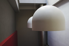 (jellybelly*) Tags: light red white blanco luz rojo lamps gettyimages catchycolorsred catchycolorswhite