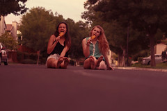 Summer nights (Olivia~Kate) Tags: summer bestfriend popsicles