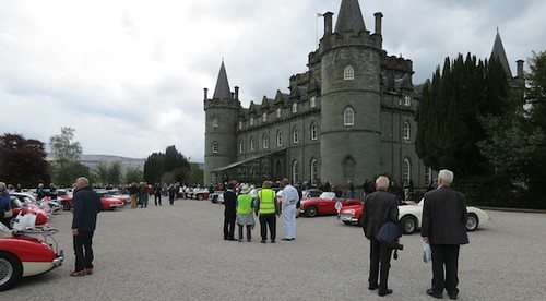 Healeys at Inveraray Castle 2