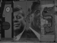 Ich bin ein Berliner (vasquezhidalgo) Tags: graffiti jfk berlinwall variety ronaldreagan