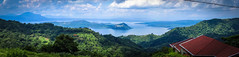 Lake Taal in the Philippines