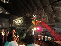 dragon breathing fire (sandwichgirl) Tags: antarctica medievaltimes mcmurdo 2013