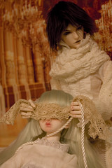 Captive_dagger (Pretty_Little_Monsters) Tags: silk bondage bjd balljointeddoll kagel souldoll dollinmind belosse