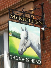 The Nags Head Pub, London (teresue) Tags: uk greatbritain england horse london pub unitedkingdom nagshead pubsign 2013