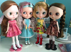 Wednesday already? (wirsmom) Tags: wednesday blythe rbl t4t nickylad phoebemaybe wubbachicken
