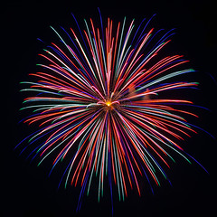 Goes Boom (Jason.Guenzel) Tags: longexposure color explosion firework