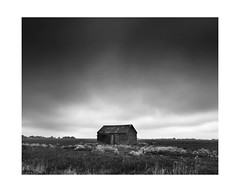 Fenland (Richard:Fraser) Tags: landscape mono alone shed fens thefens landscapephotographeroftheyear lpoty2013