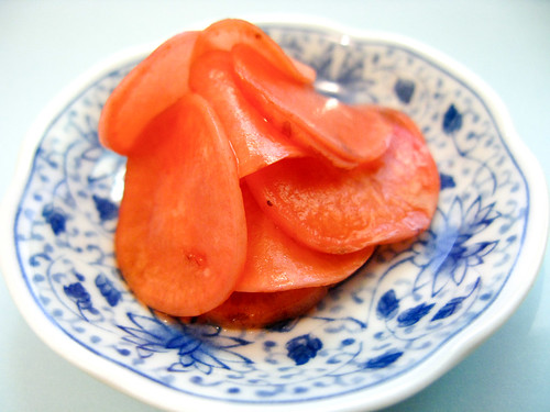 chinese pickled radish recipe pink pickle