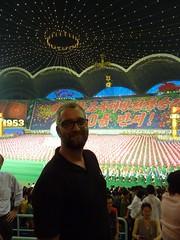 At the Arirang Mass Games (gavsherry+gen) Tags: show amazing kimjongil northkorea pyongyang dprk juche kimilsung massgames