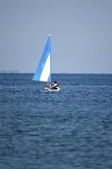 Jenni and Rosie go sailing - 07 (tame_alien) Tags: uk sea england water boat sailing unitedkingdom isleofwight solent vehicle bembridge