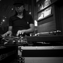 dj honda with Turntables and Mixer, h-factor (jacob schere [in the 03 strategically planning]) Tags: white black monochrome japan digital honda square tokyo concert dj live jacob 4 mixer turntable communication h turntables gr lucid hino iv ricoh djing turntablist turntablism m2c schere djhonda リコー dgr tsite hfactor 日野 jacobschere 皓正 terumasa terumasahino lucidcommunication