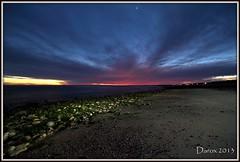 Colores del ocaso... (DaRox 2013) Tags: atardecer mar agua playa colores arena nubes reflejo tormenta tarde rocas piedras oceano
