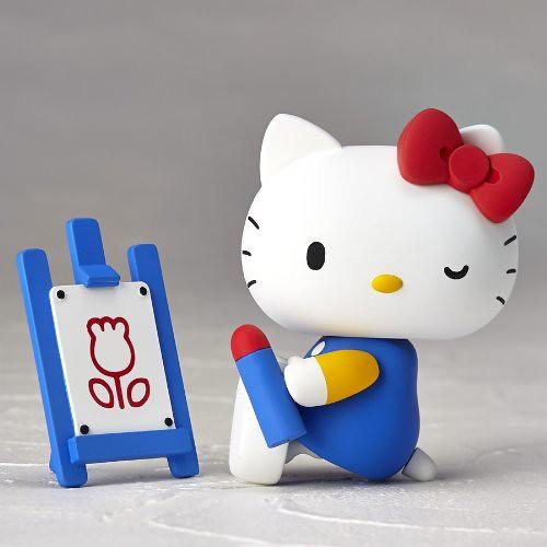 海洋堂  REVOLTECH 輪轉可動 Hello Kitty