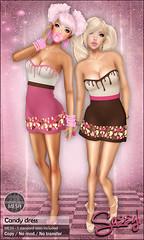 Candy dress (Ivy Burner) Tags: sassy sl