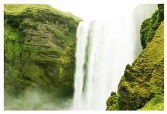 Fall - Iceland (Mashop // Recrear) Tags: green fall water landscape iceland eau vert cascade chute plantes islande marielle herbes mashop mariellepottier mashoppicture