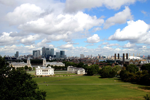 View from Greenwich Observatory by qfwfq78, on Flickr