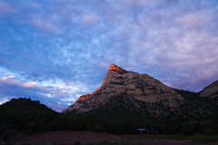 First Light at Hideout (ashergrey) Tags: county camping lake water utah kayak paddle reservoir national area gorge recreation flaming daggett