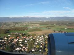 Approche de Genve (abdallahh) Tags: montral flight vol approach genve yul aircanada approche gva