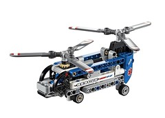LEGO Technic 42020 - Twin-Rotor Helicopter (THE BRICK TIME Team) Tags: brick lego technik technic 2014