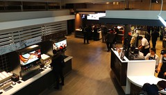 Toronto's Largest McDonald's .... Lower Level Interior .... Toronto, Ontario (Greg's Southern Ontario (catching Up Slowly)) Tags: food toronto ontario nikon interior fastfood mcdonalds commercialphotography mickeyds interiorphotography