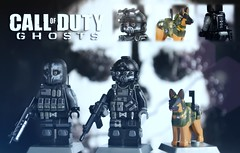 LEGO Call of Duty Ghosts: Keegan, Logan & Riley (MGF Customs/Reviews) Tags: riley call lego duty elias tiny figure keegan ghosts logan custom merrick k9 minifigure tactical hesh rorke minifigcat combatbrick vision:mountain=0534 vision:sky=0557 vision:outdoor=0845
