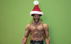 Merry X-mas (Brundlefly85) Tags: santa christmas winter holiday anime animals actionfigure drums action manga pic xmen merry marvel jackman claws punisher amature