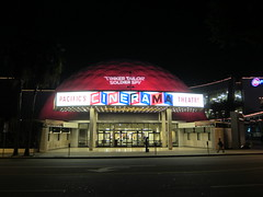 Entertainment, Tinker Taylor Soldier Spy at Cinerama Dome, Projection