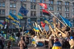 Evromaidan (kucheryavchik) Tags: street politics ukraine revolution kiev easterneurope maidan ua barricades khreschatyk evromaidan