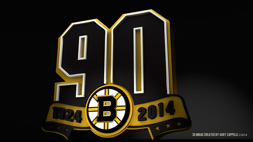 "Boston Bruins  90th Anniversary Logo • <a style=""font-size:0.8em;"" href=""http://www.flickr.com/photos/97803833@N04/12015761136/"" target=""_blank"">View on Flickr</a>"