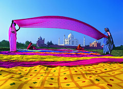 India Agra Taj Mahal