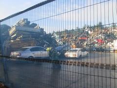 Scrap capri. (RUSTDREAMER.) Tags: ford capri cornwall scrapyard wreck scrap rustdreamer