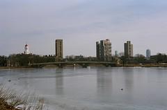 River (bmiller128) Tags: film massachusetts cambridgema cambridgeport leicam3 kodakportra160 canon50mmf18ltm