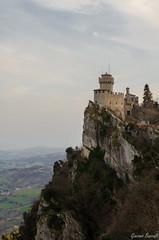 San Marino (Hushettino) Tags: panorama san inverno castello marino paesaggio